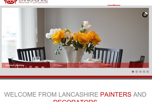 Preston painter and decorator website