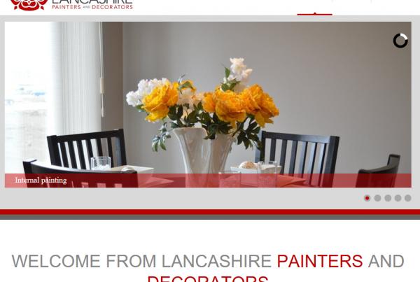 Preston painter and decorator website
