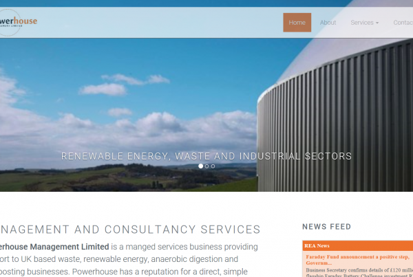 Powerhouse management website