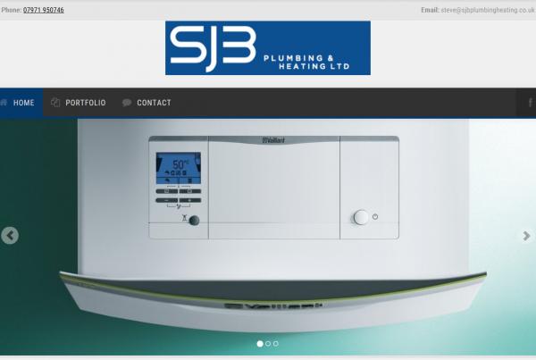 SJB Plumbing and heating website