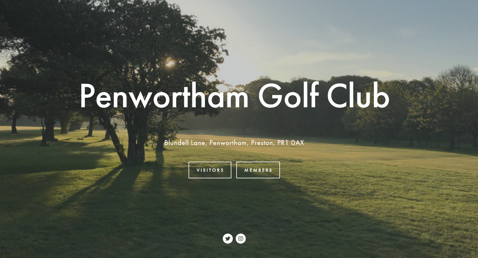 Penwortham golf course