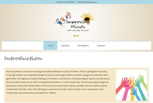 Website for Improving Minds
